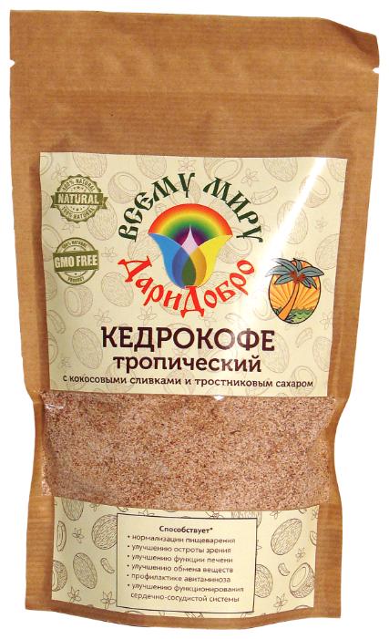 Цикорий ДариДобро Кедрокофе Тропический с кокосовыми сливками и тростниковым сахаром