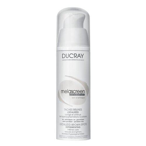 Ducray Melascreen Локальный корректор пигментных пятен для лица, шеи и области декольте, 30 мл крем ducray от пигментных пятен