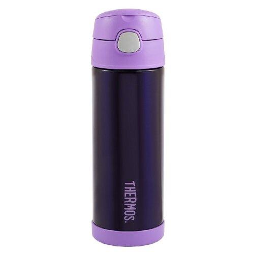 цена Классический термос Thermos F4023 (0,47 л) фиолетовый онлайн в 2017 году
