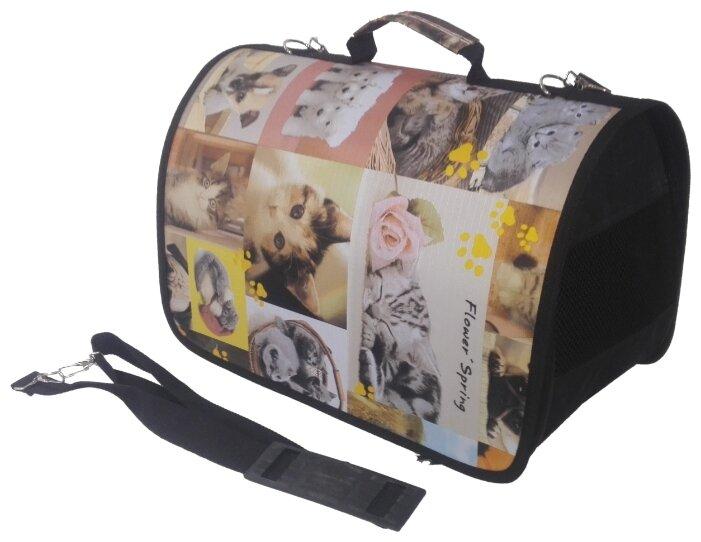 Переноска-сумка для кошек и собак LOORI Z8814 46х28х29 см