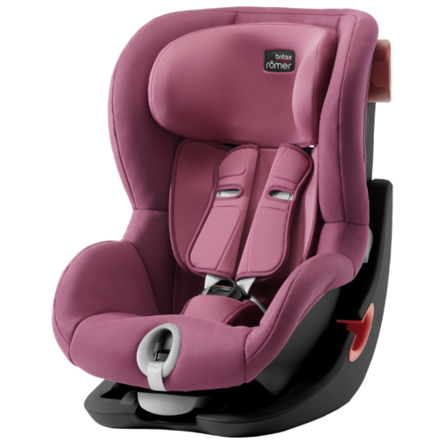 Автокресло группа 1 (9-18 кг) BRITAX ROMER King II, Wine Rose black series автокресло britax romer king ii black series wine rose trendline