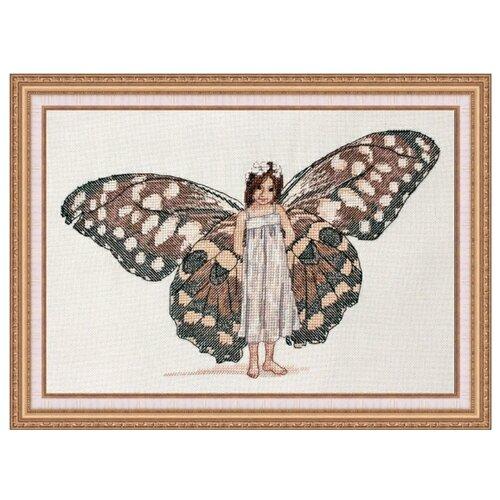 Фото - NeoCraft Набор для вышивания крестиком Душа бабочки 17 x 27 см (вл-05) neocraft набор для вышивания крестиком тихий час 17 x 25 см мн 09