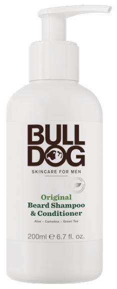 BULLDOG Шампунь и кондиционер для бороды Original Beard Shampoo and Conditioner