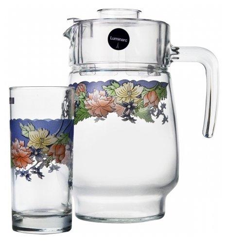 Набор Luminarc Florine кувшин + стаканы 7 предметов