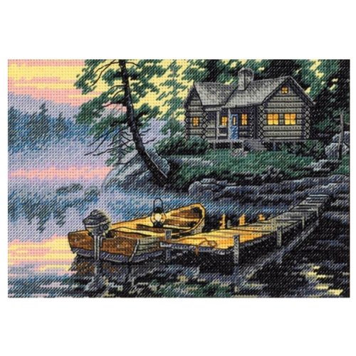 Dimensions Набор для вышивания Morning Lake (Утреннее озеро) 17 х 12 см (65091) набор для вышивания dimensions 35267 dms morning flight