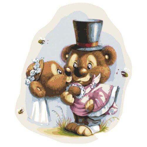 Купить Белоснежка Картина по номерам Свадьба 30х40 см (728-AS), Картины по номерам и контурам