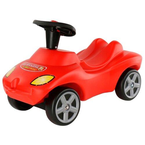 Каталка-толокар Wader Пожарная Команда (42255) со звуковыми эффектами красный каталка толокар wader буран 1 43634 красный