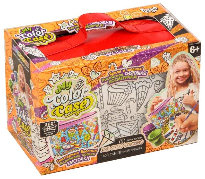 Danko Toys Косметичка-раскраска My Color Case Сладости (COC-01-02)