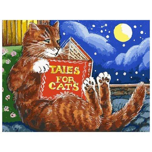 Купить Белоснежка Картина по номерам Сказки про котов 30х40 см (119-AS), Картины по номерам и контурам