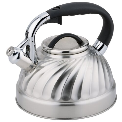 Rainstahl Чайник 7633-30RS\WK 3 л, стальной/черный rainstahl чайник 7625 30rs wk 3 л стальной черный