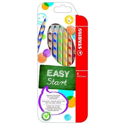Купить STABILO Цветные карандаши EASY colors 6 цветов (331/6)