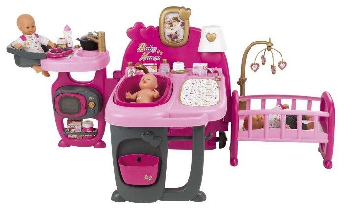 Smoby Набор по уходу за куклой Baby Nurse (220327)