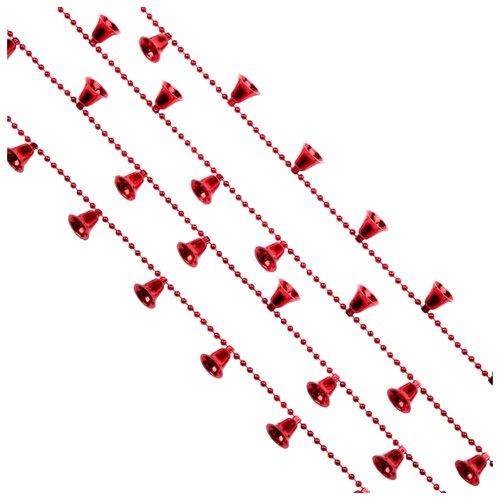 Гирлянда Феникс Present Колокольчики 270 x 1.8 см, красный гирлянда lira 270 см