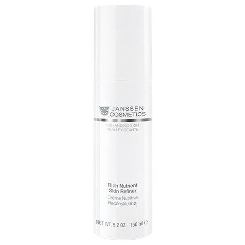 Купить Janssen Cosmetics Demanding Skin Rich Nutrient Skin Refiner Обогащенный дневной питательный крем для лица, шеи и области декольте SPF 15, 150 мл