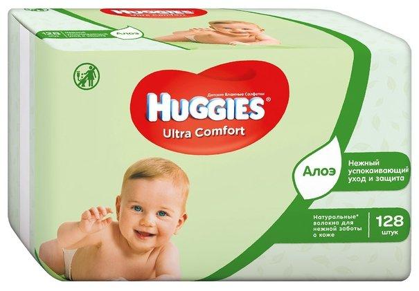 Влажные салфетки Huggies Ultra Comfort
