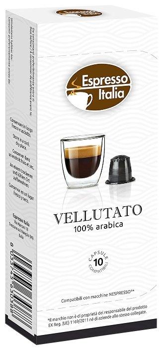 Кофе в капсулах Espresso Italia Vellutato (10 шт.)