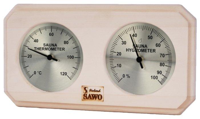 Термогигрометр SAWO 221-THP (Сосна (P), 255x30x140 мм)