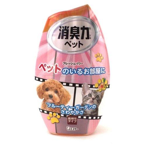 Shoshu-Riki дезодорант–ароматизатор против запаха домашних животных c ароматом фруктового сада 400мл