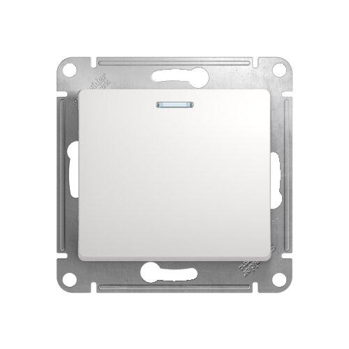 Выключатель 1-полюсныйвыключатель / переключатель Schneider Electric GLOSSA GSL000113,10А, белыйРозетки, выключатели и рамки<br>