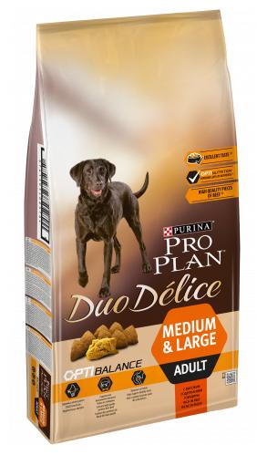 Корм для собак Pro Plan Duo Delice говядина 10 кг — купить по выгодной цене на Яндекс.Маркете