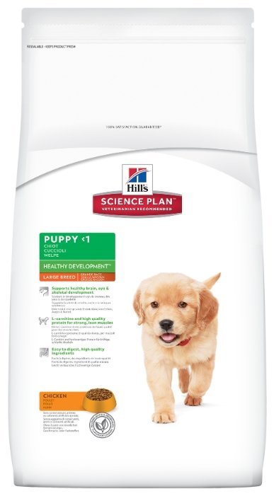 Корм для собак Hill's Science Plan Puppy Healthy Development Large Breed Chicken