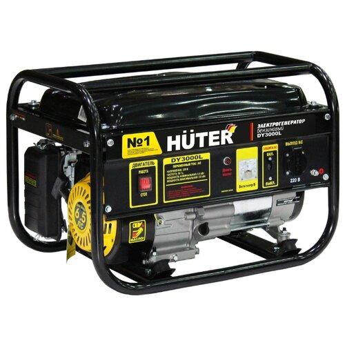 Фото - Бензиновый генератор Huter DY3000L (2500 Вт) бензиновый генератор huter dy3000lx 2500 вт