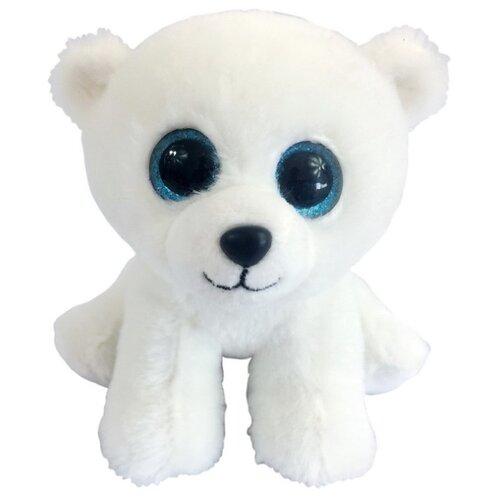 Купить Мягкая игрушка Chuzhou Greenery Toys Медвежонок полярный белый 15 см, Мягкие игрушки