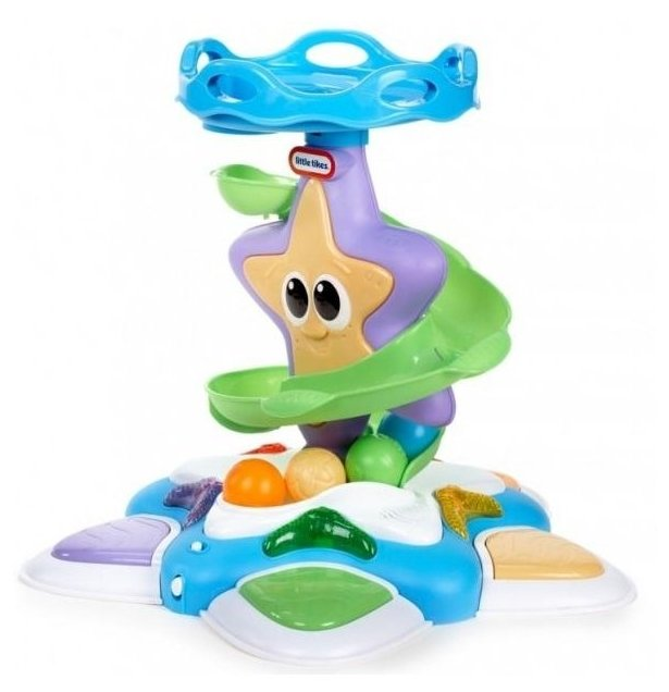 Интерактивная развивающая игрушка Little Tikes Морская звезда с горкой-спиралью