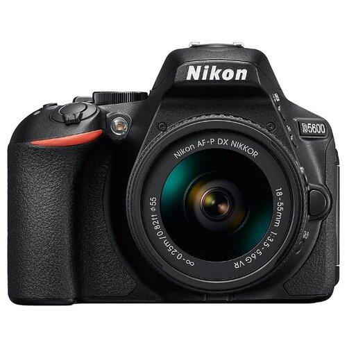 Фотоаппарат Nikon D5600 Kit черный AF-P 18-55mm f/3.5-5.6 VR