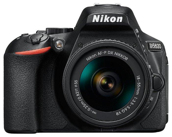Зеркальный фотоаппарат Nikon D5600 Kit 18-55 mm AF-P DX VR