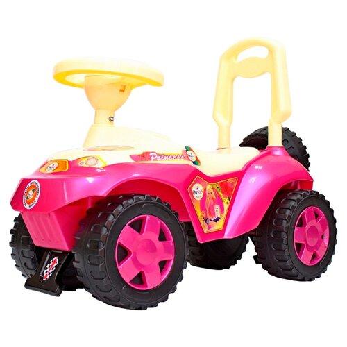 Купить Каталка-толокар RT Ориоша ОР198 (6871 / 6872 / 6873) со звуковыми эффектами розовый, Каталки и качалки