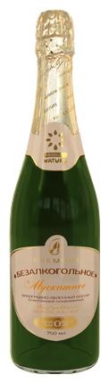 Absolute Nature безалкогольное шампанское Мускатное