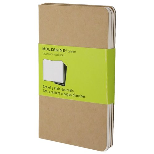 Блокнот Moleskine Cahier Journal Pocket 90x140, 32 листа 385310(QP413)Блокноты<br>
