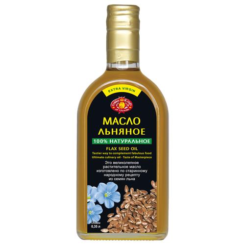 Golden Kings of Ukraine Масло льняное 0.35 лМасло растительное<br>