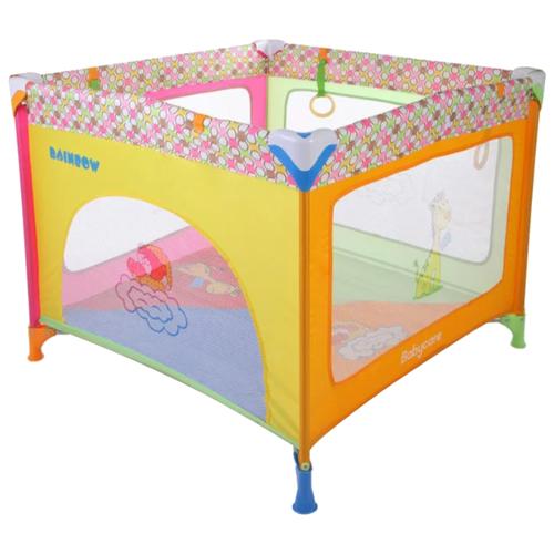 Манеж Baby Care Rainbow разноцветный манеж кровать baby care ob 888 серый бежевый