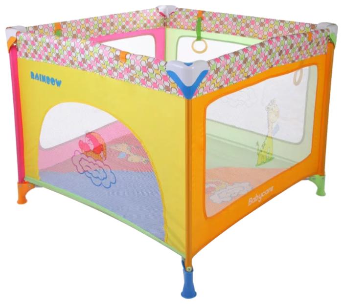 Baby Care Манеж Rainbow цвет разноцветный