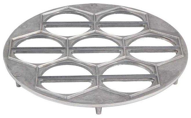 Форма для вареников Mallony 004382 серебристый