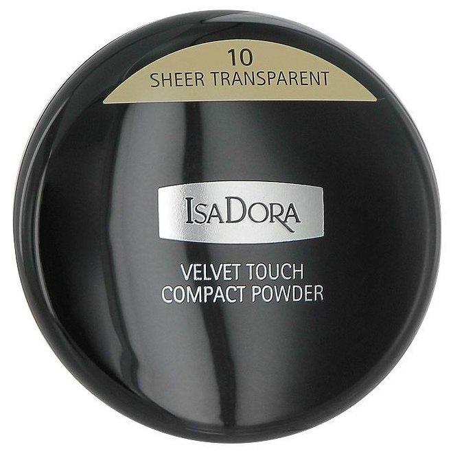 IsaDora компактная пудра Velvet touch compact powder