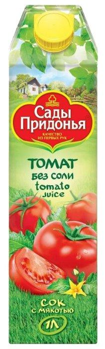 Сок Томат Сады Придонья с мякотью без соли, 1 л