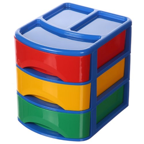 Стеллаж Plast Team Combi 21х17х20 см (PT9118) синий/красный/желтый/зеленый