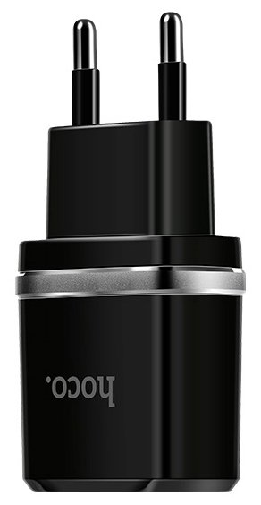 Сетевая зарядка Hoco C12 Smart