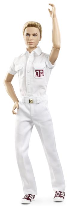 Кукла Barbie Черлидеры Техасского университета Кен, 30 см, X9207