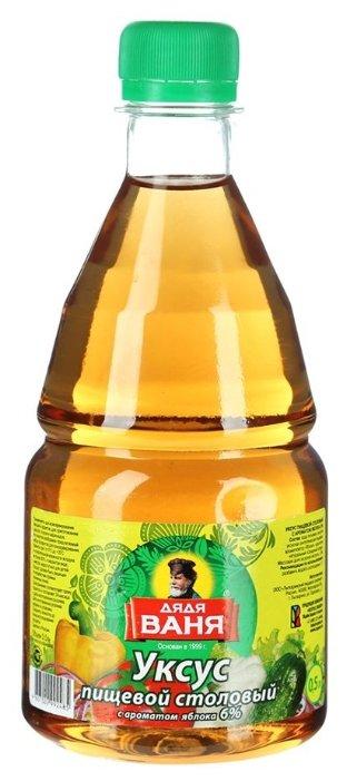 Уксус Дядя Ваня с ароматом яблока 6% 500 мл