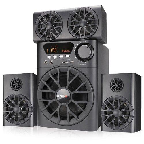 цена на Компьютерная акустика CROWN MICRO CMBS-700 черный
