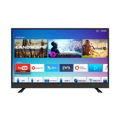 Телевизор Skyworth 40E3 40 (2017) черный tv 40 skyworth 40e2 fullhd smarttv