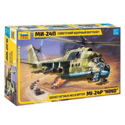 Купить Сборная модель ZVEZDA Советский ударный вертолёт МИ-24П (7315) 1:72, Сборные модели