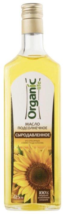 Специалист Масло подсолнечное Сыродавленное Organic life
