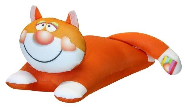 Игрушка-антистресс Штучки, к которым тянутся ручки Сердечный кот рыжий 20 см