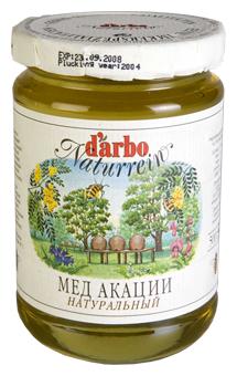 Мёд DARBO Акации, стекло 500 г