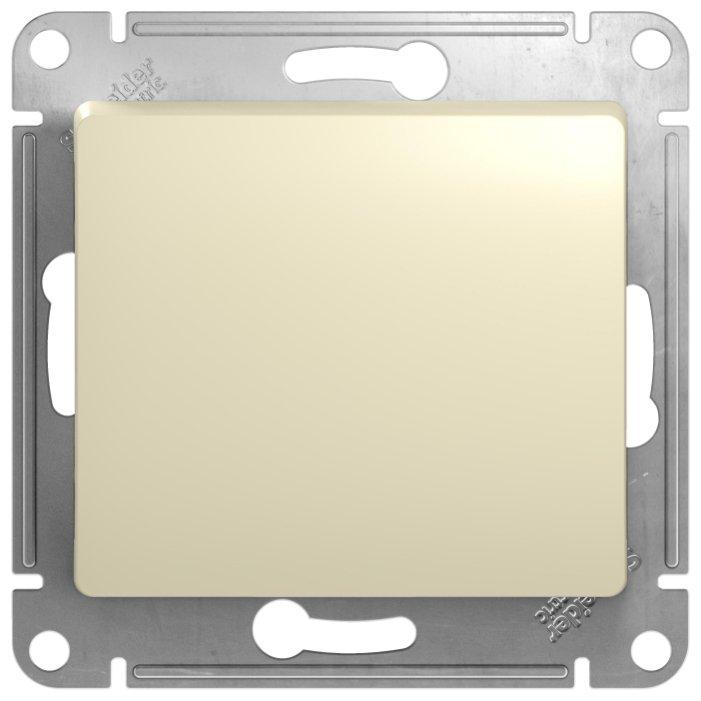 Выключатель 1-полюсный Schneider Electric GLOSSA GSL000211, 10А , бежевый